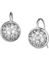 SYNAJEWELS Cosmic Diamond Ball Earrings - Metallic
