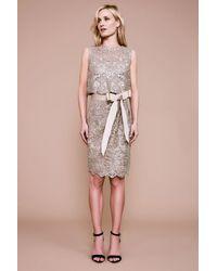 Tadashi Shoji - Chini Blouson Sequin Dress - Lyst