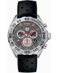 Tag Heuer Formula 1 Manchester United Special Edition Quartz 43 Mm - Black