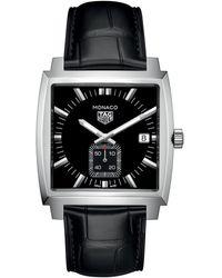 Tag Heuer Monaco Quartz 37 Mm - Black