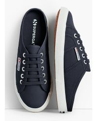 Talbots - Superga® Canvas Mule Sneakers - Lyst