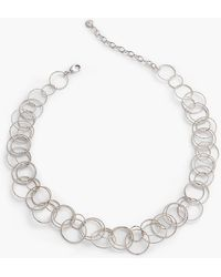 Talbots - Delicate Multi-link Necklace - Lyst