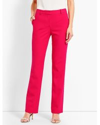 Talbots - Luxe Italian Double-cloth Barely Boot Pant - Lyst