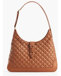 Talbots - Quilted Hobo Bag - Lyst
