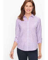 Talbots Perfect Shirt - Purple