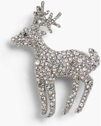 Talbots Holiday Brooch Collection - Metallic