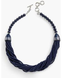 Talbots - Multi-strand Beaded Necklace - Lyst