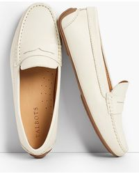 Talbots - Taylor Penny-keeper Driving Mocassins - Lyst