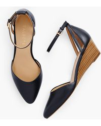 Talbots Laney D'orsay Nappa Wedges - Blue