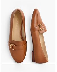 Talbots Ryan D-ring Loafers - Brown