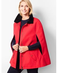 Talbots - Water Resistant Cape - Lyst