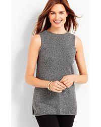 Talbots - Marled Sleeveless Sweater Shell - Lyst