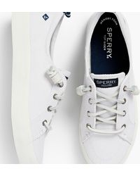 Talbots Sperry(r) Crest Vibe Sneakers - White
