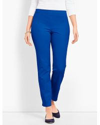Talbots Chatham Ankle - Curvy Fit - Blue