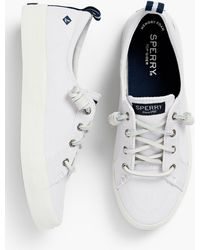 Talbots Sperry(r) Crest Vibe Trainers - White