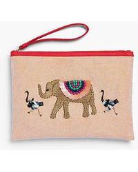 Talbots - Embellished Elephant Novelty Pouch - Lyst