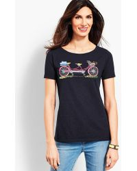 Talbots - Double Seat Bicycle Tee - Lyst