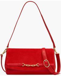 Talbots Magnetic Flap Crossbody Bag - Red