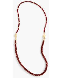 Talbots - Faceted Bead Layering Necklace - Lyst