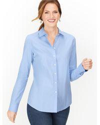Talbots Perfect Shirt - Blue