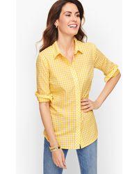 Talbots - Classic Cotton Shirt - Lyst