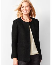 Talbots - Boiled Wool Jacket - Lyst