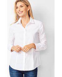 Talbots The Perfect Shirt - White