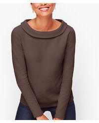 Talbots Sabrina Top - Brown