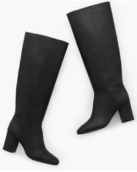 Talbots Darcy Tall Nappa Boots - Black