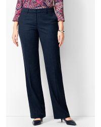 Talbots - Windsor Luxe Italian Flannel Trousers - Curvy Fit - Lyst