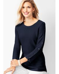01df8edf33d Button-sleeve Sweater