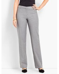 Talbots - Seasonless Wool Barely Boot Pant - Curvy Fit - Lyst
