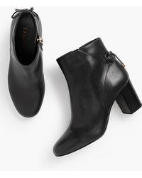 Talbots - Lilia Block-heel Ankle Boots - Lyst