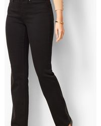 Talbots High-waist Barely Boot Jeans - Black