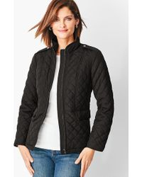 Talbots - Quilted Jacket - Lyst