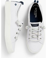 Talbots Sperry® Crest Vibe Sneakers - White