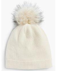 Talbots - Pom-pom Hat - Lyst