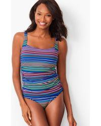 79679a644bd4a Talbots Miraclesuit(r) Amici One-piece in Blue - Lyst