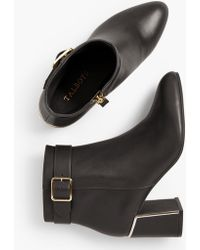 04a95a2a0 Lyst - Tory Burch Simone Over-The-Knee Boots in Black