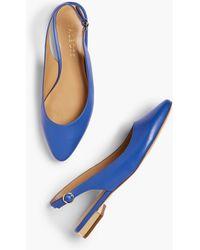 90763183b32e Lyst - Talbots Keri Braided Lace-up Sandals