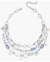 Talbots Treasure Hunt Necklace - Blue