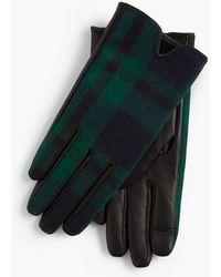 Talbots - Black Watch Gloves - Lyst
