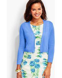 Talbots Classic Dress Shrug - Blue