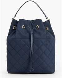 Talbots - Quilted Backpack - Lyst