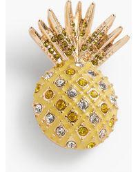Talbots - Pineapple Pin - Lyst