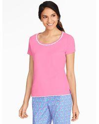 Talbots Pyjama Tee - Pink