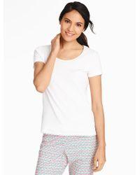 Talbots Pyjama Tee - White