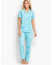 Talbots - Morning Rose Pajama Set - Lyst