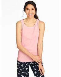 Talbots Knit Tank - Pink