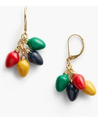 Talbots - Holiday Lights Earrings - Lyst